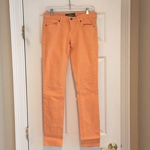 Lucky Skinny Jeans, Size 4 Regular, Peach